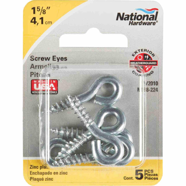 National #206 Zinc Small Screw Eye (5 Ct.) Image 2