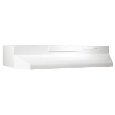 Broan-Nutone F Series 36 In. Convertible White Range Hood