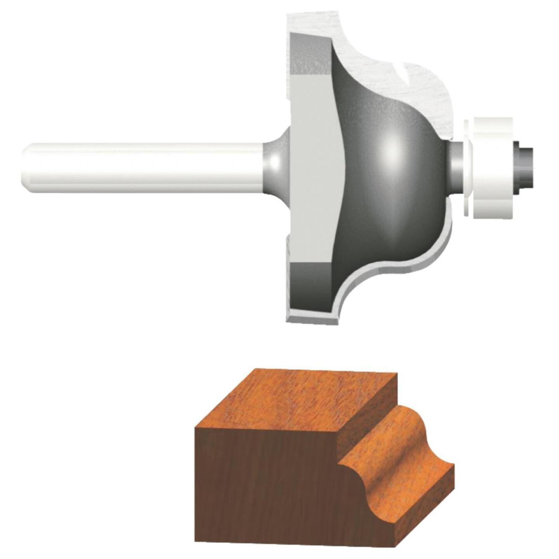 Vermont American Roman Carbide Tip 1/4 In. Ogee Bit Image 2