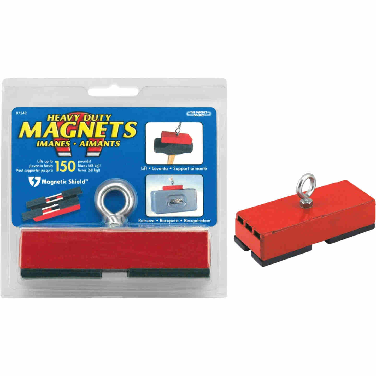 Master Magnetics 5 in. 150 Lb. Heavy Duty Retrieving Magnet Image 1