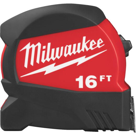 Milwaukee 16 Ft. Compact Wide Blade Tape Measure