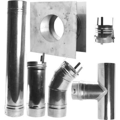 MR. HEATER Horizontal Garage Heater Vent Kit (7-Piece)