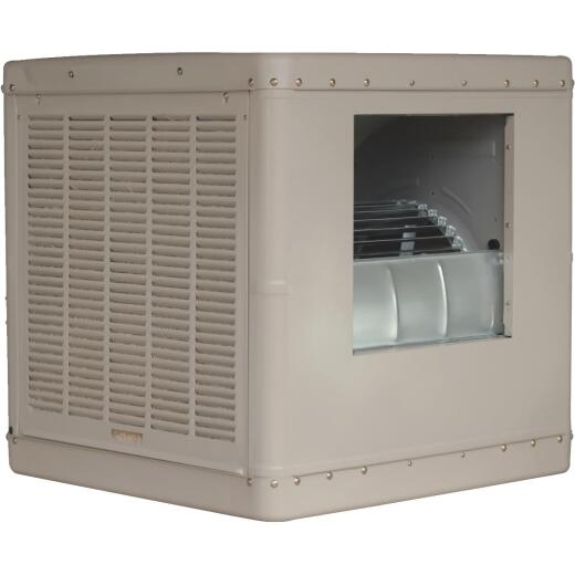 Essick 2230 to 4600 CFM Side Discharge Whole House Aspen Media Residential Evaporative Cooler, 800-1700 Sq. Ft.