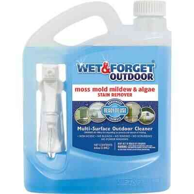 Wet & Forget 64 Oz. Ready To Use Trigger Spray Moss, Mold, Mildew, & Algae Stain Remover